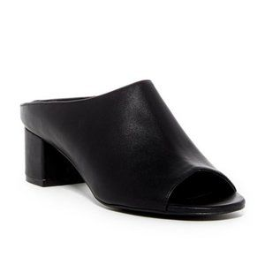 Charles by Charles David Blk Leather Mule …